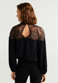 Mango - RAMET - Blouse - black - 2