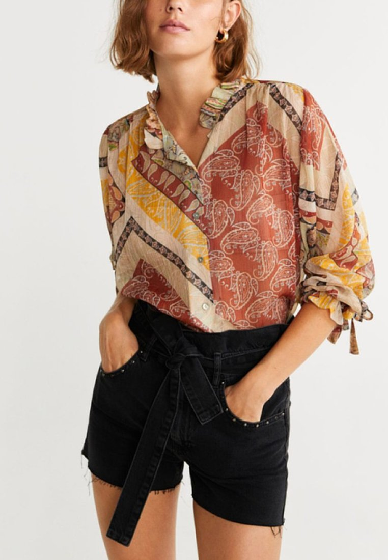 Mango - DIDO - Blouse - orange