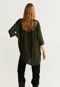 Mango - RUTH - Button-down blouse - khaki - 2
