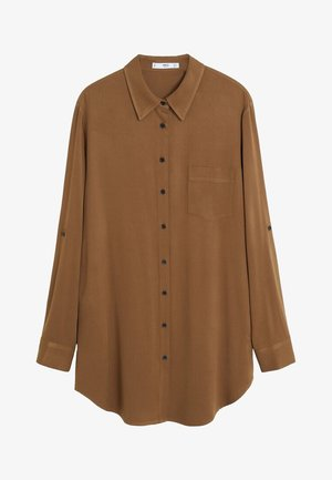 ARABY - Button-down blouse - camel