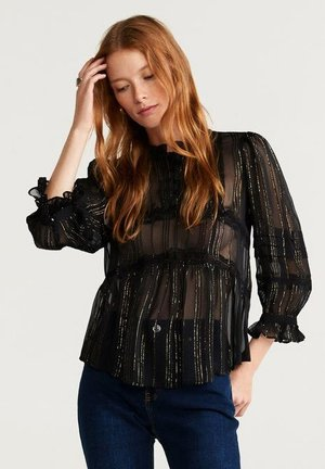 GOLDY - Blouse - black