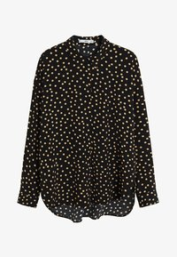 Mango - CERCLE - Button-down blouse - black - 3