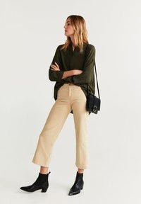 Mango - LUPE - Button-down blouse - khaki - 1
