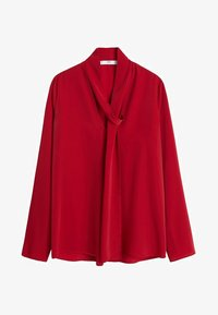 Mango - BOW - Blouse - red - 3