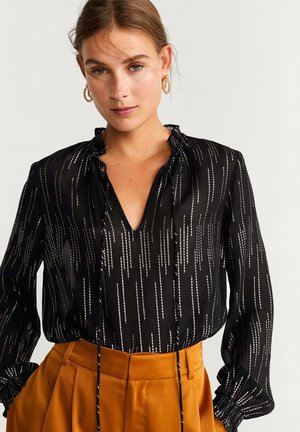 FILCUPE - Blouse - black