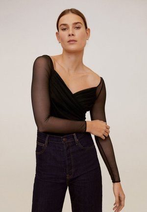 PIA - Long sleeved top - black
