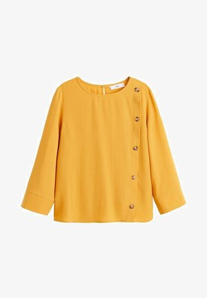LONDON - Bluse - mustard yellow
