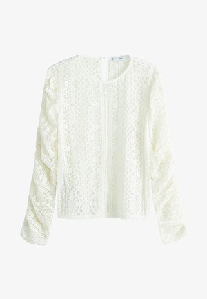 REINA - Blouse - cream white