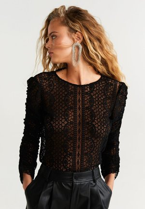 REINA - Blouse - black