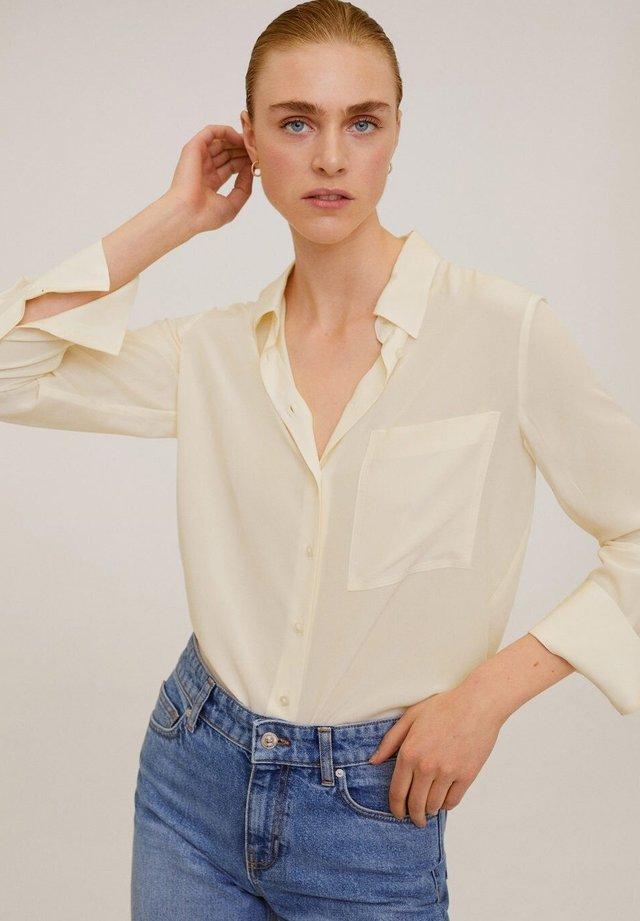 TIVOLI - Button-down blouse - cream white