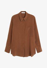 Mango - TIVOLI - Overhemdblouse - brown - 3