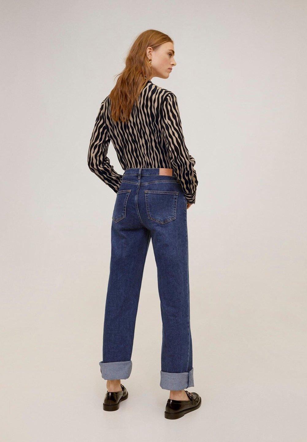 Mango MASAI - Button-down blouse - black d96jU