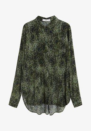 CASCABEL - Button-down blouse - green