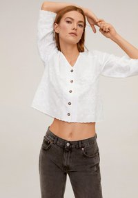 Mango - PRAIRIE - Blouse - off-white - 0