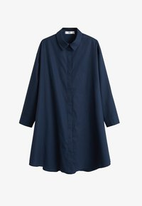 Mango - SNOW - Robe chemise - dunkles marineblau - 3