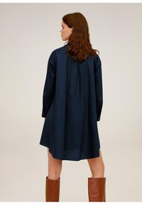 Mango - SNOW - Robe chemise - dunkles marineblau - 2