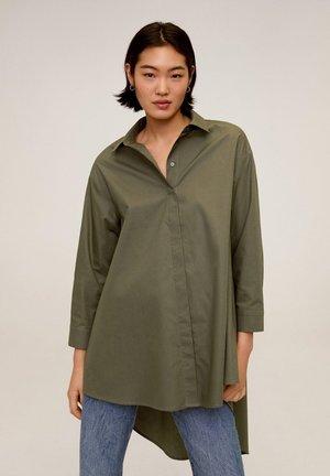 SNOW - Button-down blouse - khaki