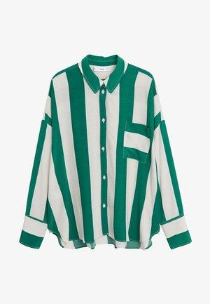 SAMI - Button-down blouse - grün