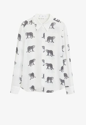 TIGRE - Overhemdblouse - cremeweiß