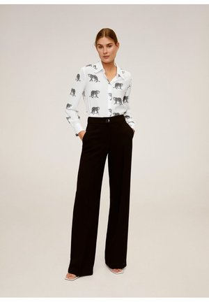 TIGRE - Button-down blouse - cremeweiß
