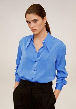 LARGUI - Hemdbluse - blau