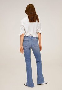 Mango - SATINI - Button-down blouse - cremeweiß - 2