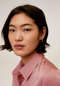 Mango - SATINI - Button-down blouse - rosa - 4