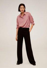 Mango - SATINI - Button-down blouse - rosa - 1