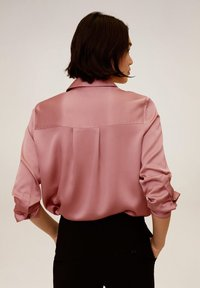 Mango - SATINI - Button-down blouse - rosa - 2