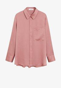 Mango - SATINI - Button-down blouse - rosa - 5