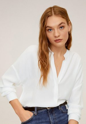 LINCE - Blouse - cremeweiß