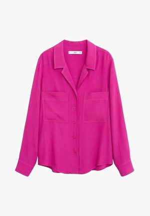 STORM2 - Button-down blouse - fuchsia