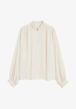 ROMANTIC - Button-down blouse - ecru