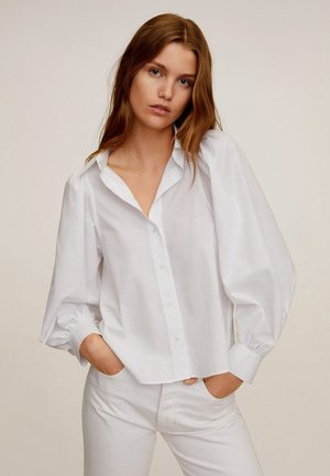 BALO - Button-down blouse - cremeweiß