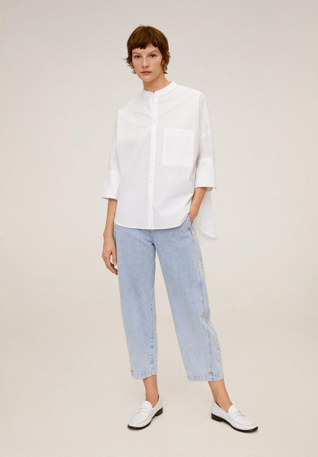 POPI - Button-down blouse - cremeweiß