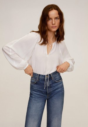 RIVER-A - Blouse - cremeweiß