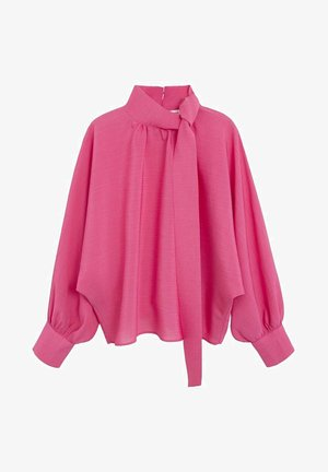 BOW - Blouse - fuchsia