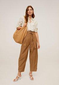 Mango - CLASSIC - Button-down blouse - ecru - 1