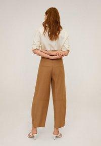 Mango - CLASSIC - Button-down blouse - ecru - 2
