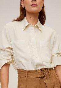 Mango - CLASSIC - Button-down blouse - ecru - 3