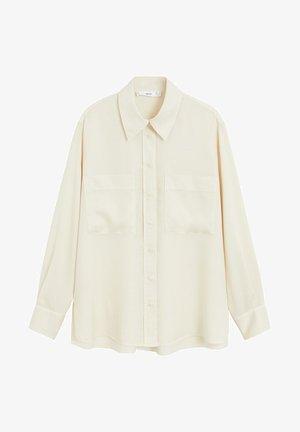 CLASSIC - Camisa - ecru