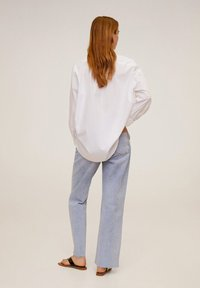 Mango - HAPPI - Button-down blouse - cream white - 2