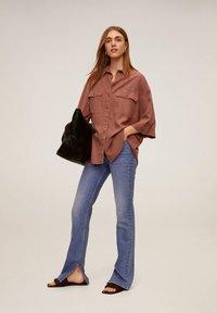 Mango - TURNER - Button-down blouse - rosa - 1