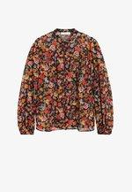 WINONA - Button-down blouse - schwarz