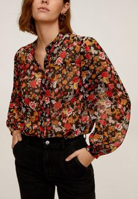 Mango - WINONA - Button-down blouse - schwarz - 0