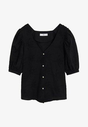 AMANDIN - Overhemdblouse - schwarz