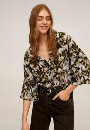 CASCABE2 - Button-down blouse - khaki
