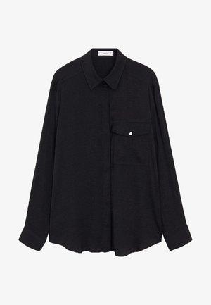 GRETA - Camicia - schwarz