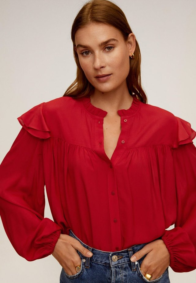 ZAIDICRE - Button-down blouse - rot