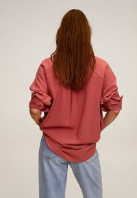 Mango - BEST - Button-down blouse - korallrot - 2